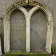 Tudor style window