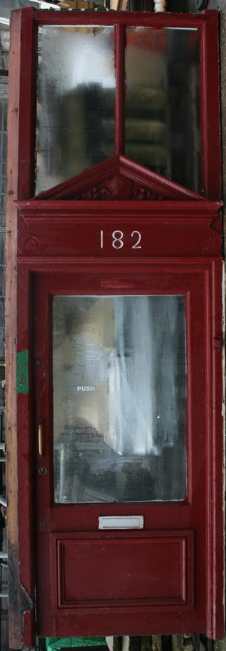 Shop front and doorway
