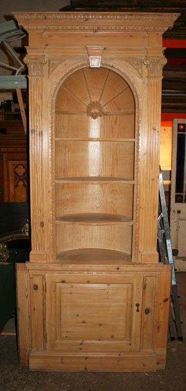 Pine niche cupboard