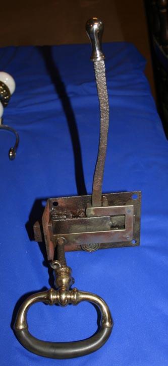 Horsebox door handle