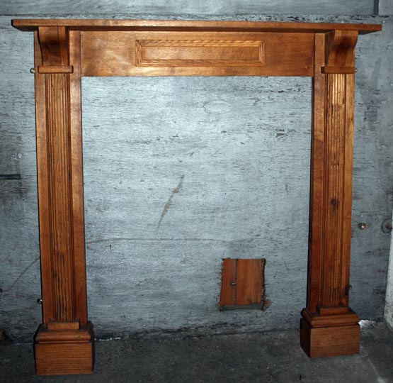 Oak surround