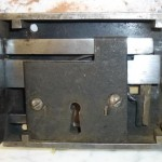 Georgian rim lock