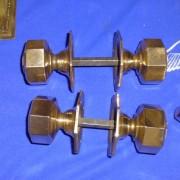 Pair door handles