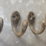 Steel coat hooks