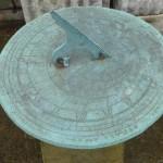 Bronze sundial top