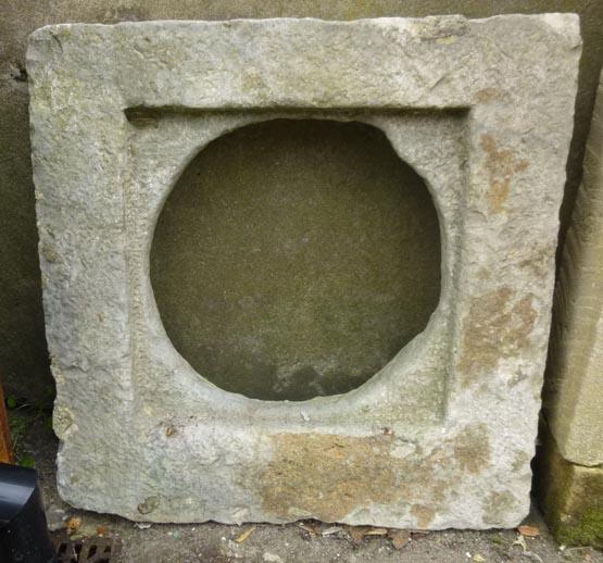 Italian stone window