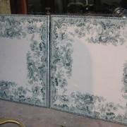 6 green tiles
