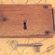 Oak rim lock