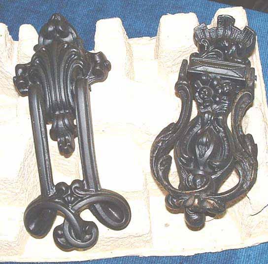 2 Art Nuveau knockers