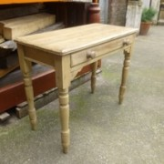Victorian pine side table