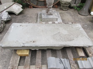 Pennant stone step