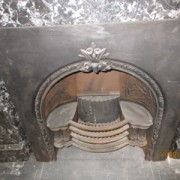 Victorian Arched Hob Register Grate