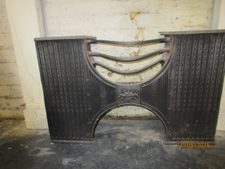 Georgian Cast Iron Hob Grate