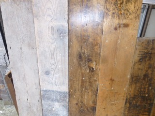 Pine Plain Edged Flooring