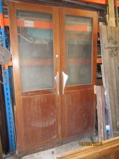 French Mahogany Doors