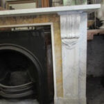 Marble Surround with Sienna