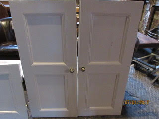 Painted Victorian Cupbord Doors