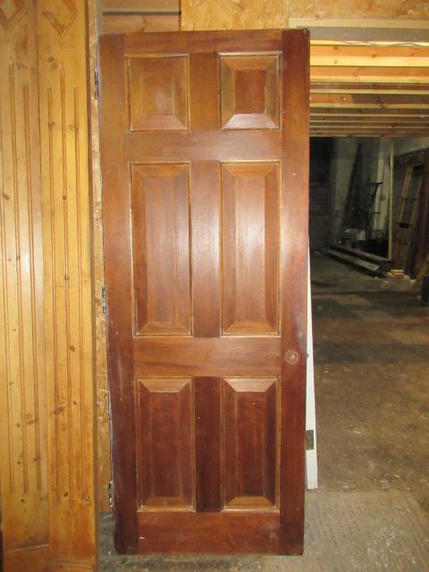 Fielded Mahogany Door