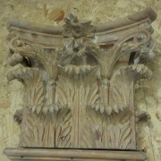 Pair of Georgian Carved Pine Pilasters