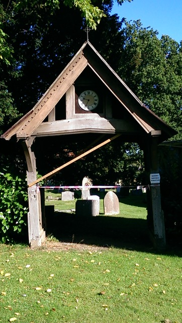 Beautiful oak framed lych gate
