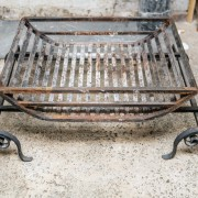 Large wrought iron dog basket