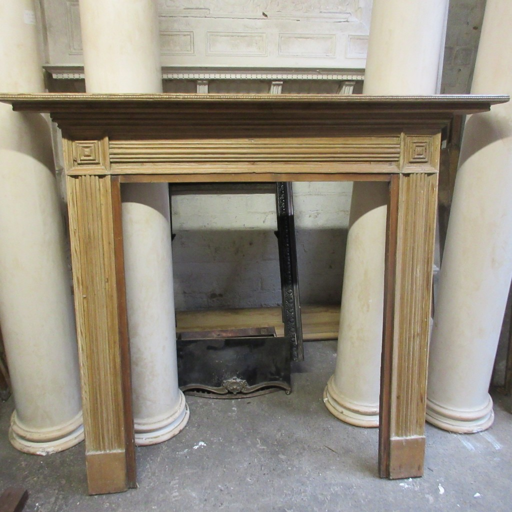 Regency pine fire surround