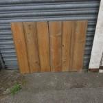 Beaded pine board