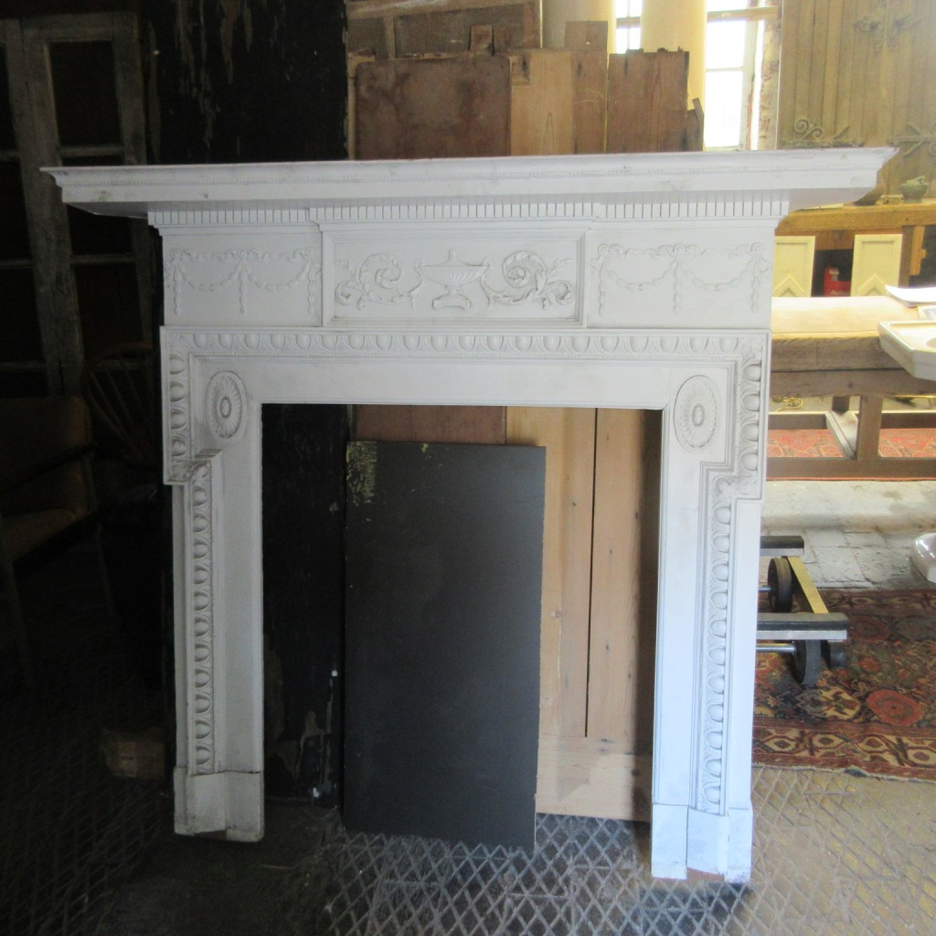 Geogian style pine surround