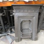Cast iron integral grate