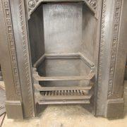 Cast iron integral grate