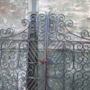 Pair period driveway gates