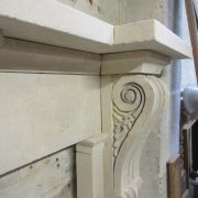 Large William iv stone surround